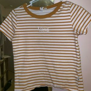 embroidered vans shirt